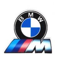 Parche textil BMW M 9cm x 8cm