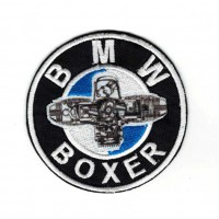 Patch embroidery BMW BOXER 7,5CM