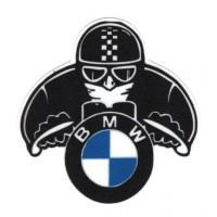 Parche textil BMW MOTERO 10CM X 10,5CM