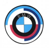 Textile patch BMW AÑOS 70 7,8cm X 7,8cm