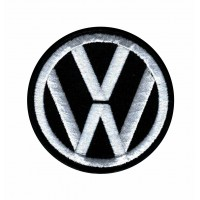 Patch embroidery BLACK VOLKSWAGEN vw 10cm