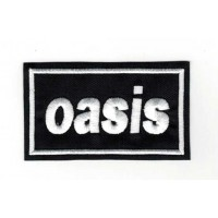 Embroidery patch OASIS 8cm x 4,5cm