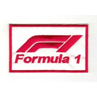 Embroidery patch new FORMULA 1 9cm x 5,5cm