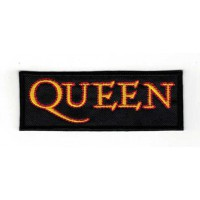Embroidery patch QUEEN 8cm x 3,5cm