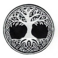 Embroidery patch TREE OF LIFE 7cm
