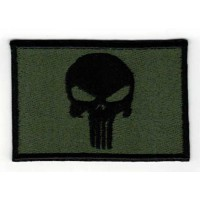 Embroidery patch SKULL The Punisher 7,5cm x 5cm