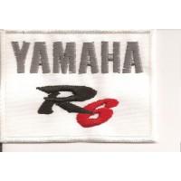 Parche bordado YAMAHA R6 7,8cm x 5,6cm