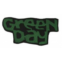 Embroidery patch Green Day 8cm 4cm