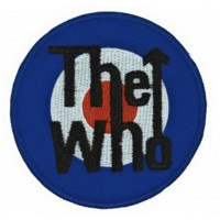 Embroidery patch THE WHO 8cm