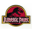 Embroidery patch JURASSIC PARK 8cm x 6cm