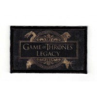 Textile and embroidery patch GAME OF THRONES LEGACY 6cm x 3.5cm