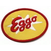 Embroidery patch EGGO WAFFLES 8cm x 6,5cm