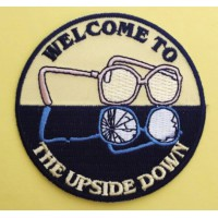embroidery patch STRANGER THINGSTHE UPSIDE DOWN 8cm
