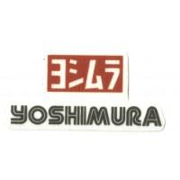 Parche textil YOSHIMURA 8cm x 3,7cm