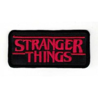Embroidery patch STRANGER THINGS 9cm x 3cm