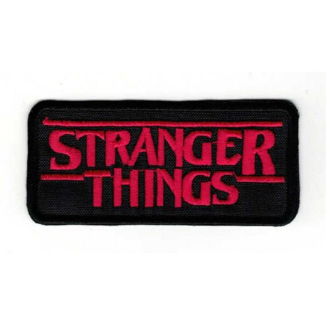 embroidery patch STRANGER THINGS HAWKINS POLICE 8cm x 5cm