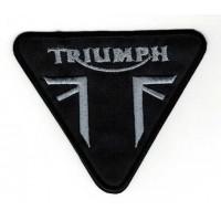 Embroidery patch TRIUMPH TRIANGULO 10cm x 8,5cm