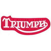 Parche bordado TRIUMPH CLASICO 4cm x 1,6cm