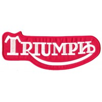 Embroidery patch TRIUMPH CLASIC 4cm x 1,6cm