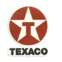 Textile patch TEXACO 5,5cm X 7cm