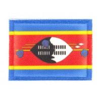 Embroidery and textile patch SUAZILANDIA O ESUATINI Flag 7cm x 5cm