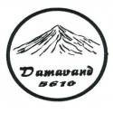 Embroidery and textile patch DAMAVAND 5610 8cm