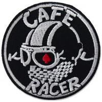 Parche bordado CAFE RACE 8CM