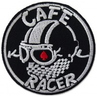 Embroidery patch CAFE RACE 20cm