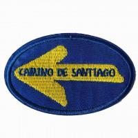 Parche bordado CAMINO DE SANTIAGO 10m x 3,5cm