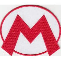 Embroidery patch MARIO BROS 9 cm