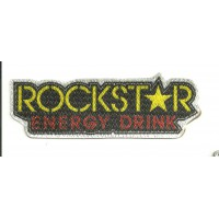 Textile patch ROCKSTAR 9,5cm x 3cm