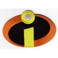 Embroidery patch INCREIBLES 9cm x 5cm
