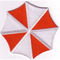 Embroidery patch RESIDENT EVIL UMBRELLA 7cm