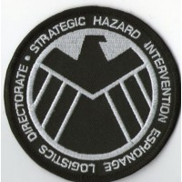 Embroidery patch SHIELD 8cm