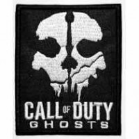 Embroidery patch CALL OF DUTY 7cm x 8,5cm