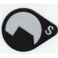 Embroidery patch HALF LIKE BLACK MESA 8cm