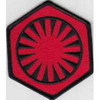 Parche bordado 1ST ORDER STAR WARS 8cm