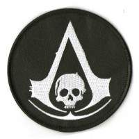Embroidery patch ASSASSINS CREED PIRATA 8cm