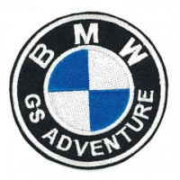 Embroidery patch BMW GS ADVENTURE 7,5CM
