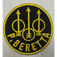 Embroidery patch P BERETTA 7,5cm