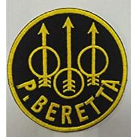 Parche bordado P BERETTA 7,5cm