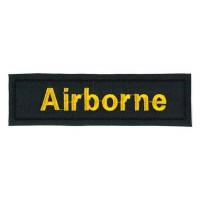 Parche bordado AIRBORNE 10cm x 2,5cm