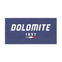 Textile patch DOLOMITE 1897 9cm x 4'5cm