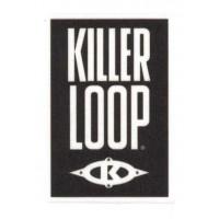 Textile patch KILLER LOOP 5cm x 7cm