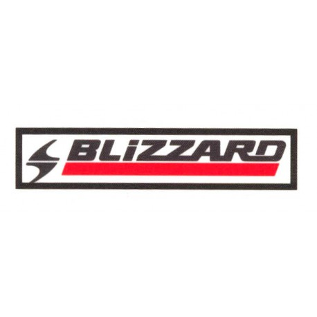 Textile patch BLIZZARD 9cm x 2'5cm