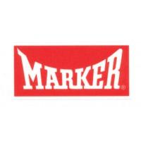Textile patch MARKER 9cm x 4cm
