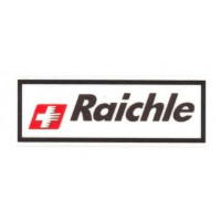 Textile patch RAICHLE 9,5cm x 3,5cm