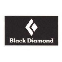 Textile patch BLACK DIAMOND 8,5cm x 4,5cm
