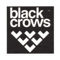 Parche textil BLACK CROWS 9cm x 9cm