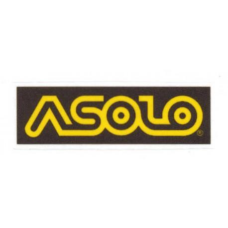 Textile patch ASOLO 9cm x 3cm
